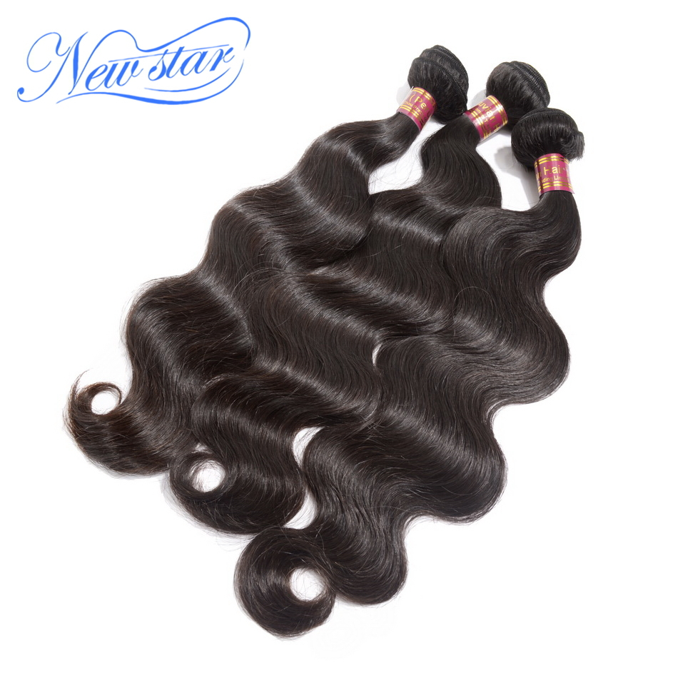 Unprocessed new star hair products Mixed length 3pcs Best quality peruvian virgin hair  body wave extension machine weft(China (Mainland))