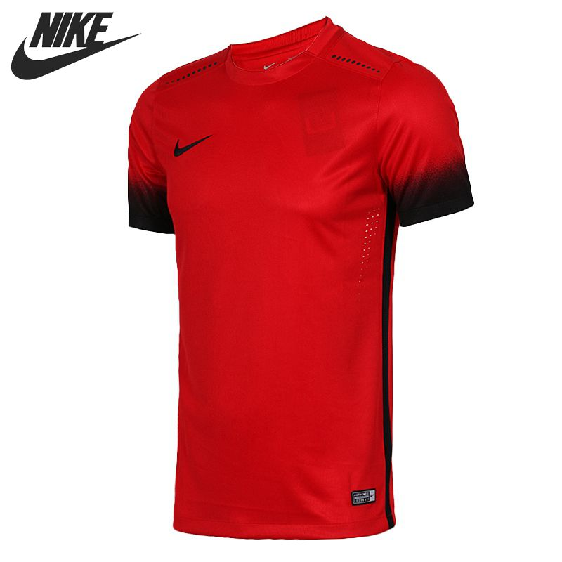Original New Arrival 2016 NIKE Football/Soccer Men's T-shirtsshort sleeve Sportswear free shipping(China (Mainland))