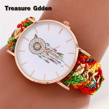 New Brand Women Watch Fashion Dreamcatcher Stainless Steel Wristwatches Ladies Quarzt Watches Relogio Feminino(China (Mainland))