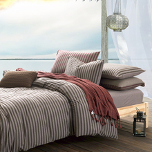 New Design 100% Cotton Knitted Comforter Bedding Set Quilt cover cover bed sheet 4PCS Queen King Size discount(China (Mainland))