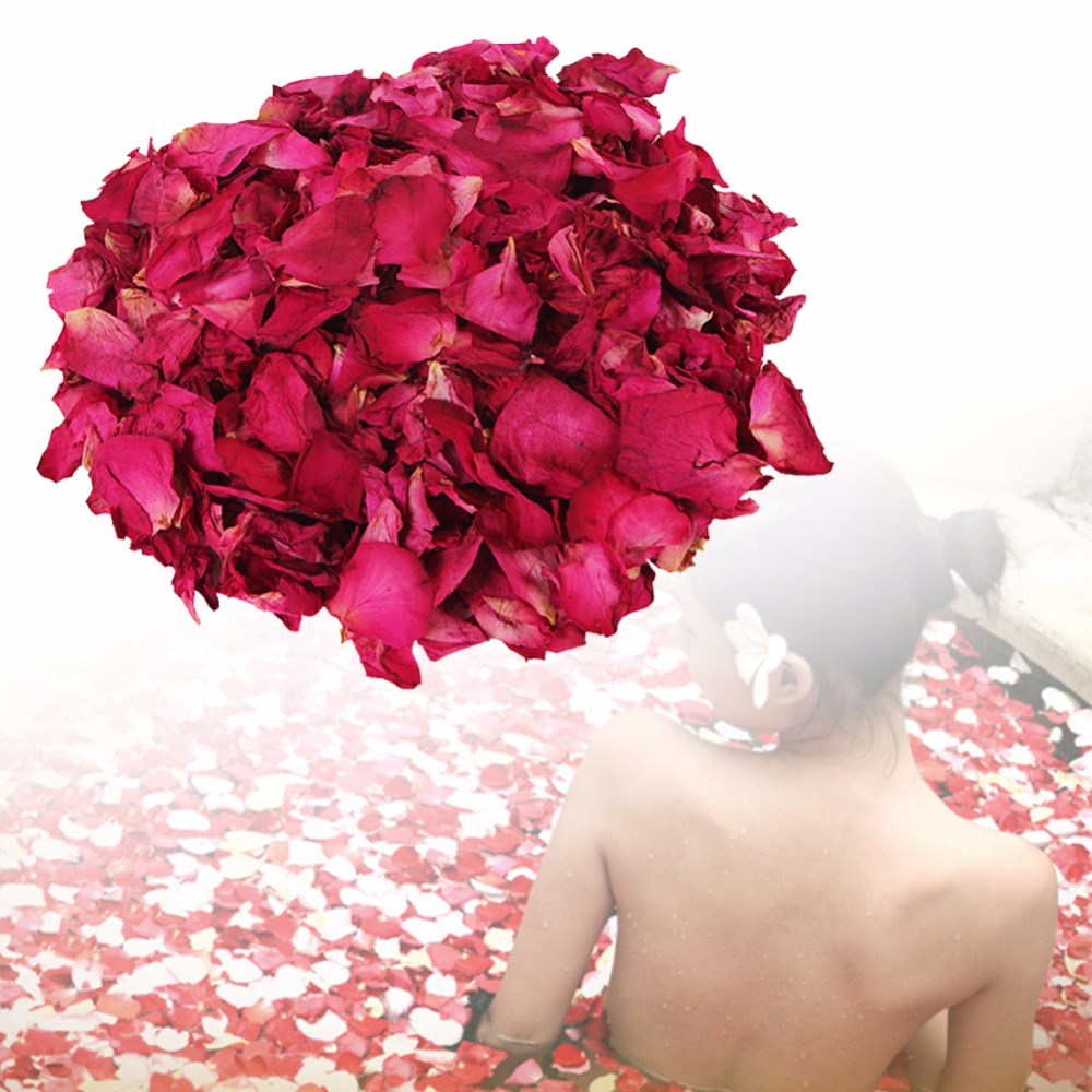 100g Dried Rose Petals Bath Tools Natural Dry Flower Petal Spa Whitening Shower Aromatherapy Bathing Beauty Beauty Supply RP1