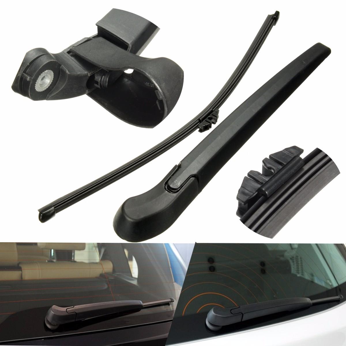 Car Rear Window Windshield Wiper Arm&Blade Plastic Replace For BMW (2007-2013) X5 /X5M /E70