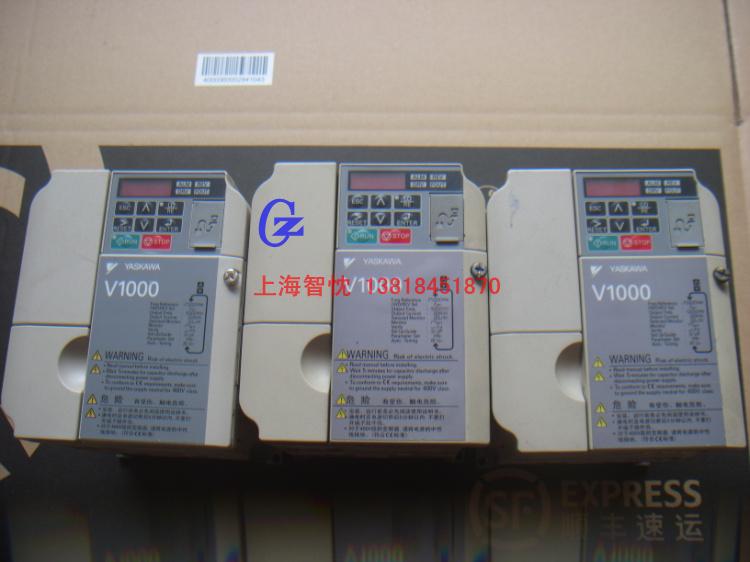 Used Yaskawa V1000 Inverter CIMR-VB4A0007BBA 2.2KW, 380V small general wrap(China (Mainland))