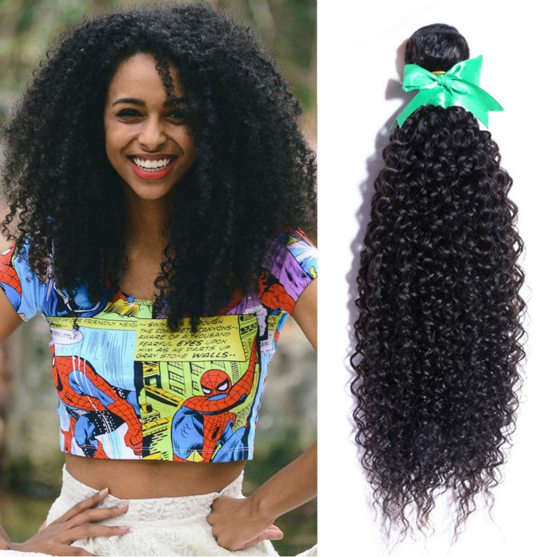 Peruvian Curly Hair 4pcs/lot Peruvian Virgin Hair Kinky Curly Virgin Hair Human Hair weave free shipping,can be dyed,top quality
