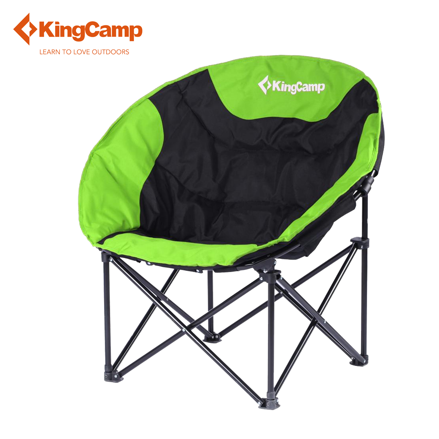 KingCamp Ultralight Leisure Camping Chair Heavy Duty Construction Green Fishi
