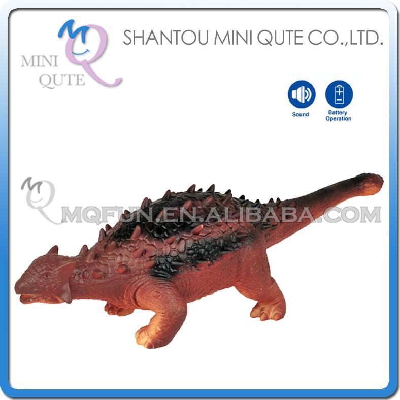 Mini Qute 53 cm plastic Godzilla Jurassic Park robot pet animal sound electronic dragon Dinosaur Ankylosaurus model toy NO.006(China (Mainland))