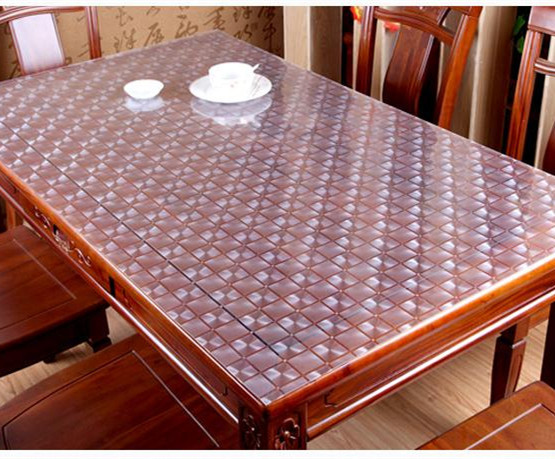 Acheter Table Basse Transparente ~   Sets De Table PVC Souple Transparent Mat Imperm?able Table Basse Jpg