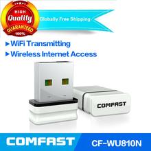 Mini wifi usb Comfast WU810 RTL8188 EUS 2.4GHz 802.11n/g/b 150mbps mini usb wifi wireless adapter free shipping wireless dongle(China (Mainland))