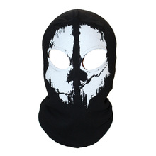 winter skull mask balaclava beanies hats men ghost skul full face ski mask sport training hood beanie,gorros hombre casquette(China (Mainland))
