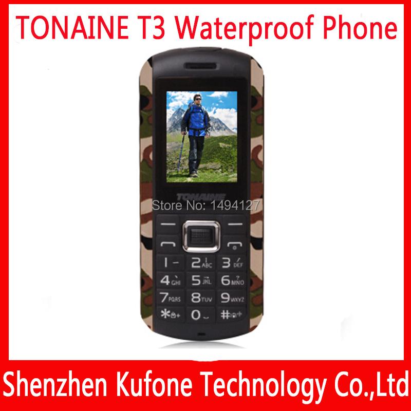 original Senior elder old man mobile phone dual sim android phone shockproof waterproof dust-proof phone ip67 TONAINE T3 T180(China (Mainland))