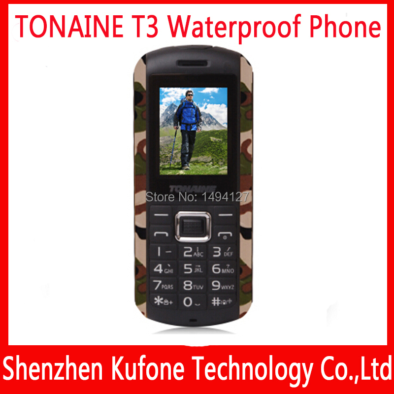 original Senior elder old man mobile phone dual sim android phone shockproof waterproof dust-proof phone ip67 TONAINE T3 T180(China (Mainland))