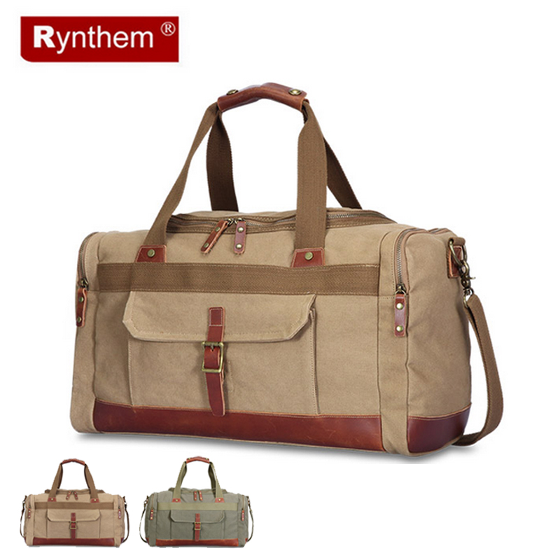 Men Travel Bags Large Capacity Women Luggage Travel Duffle Bags Canvas Outdoor Hiking Sport Folding Bag For Trip Waterproof