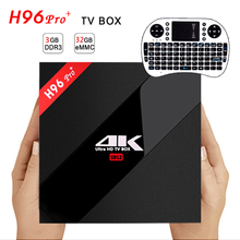 Buy 3GB/32GB Amlogic S912 H96 Pro+ Octa Core Android 6.0 2.4G/5GHz Wifi 4K HDR 100/1000M LAN BT DLNA Miracast Smart Android Tv Box for $66.30 in AliExpress store