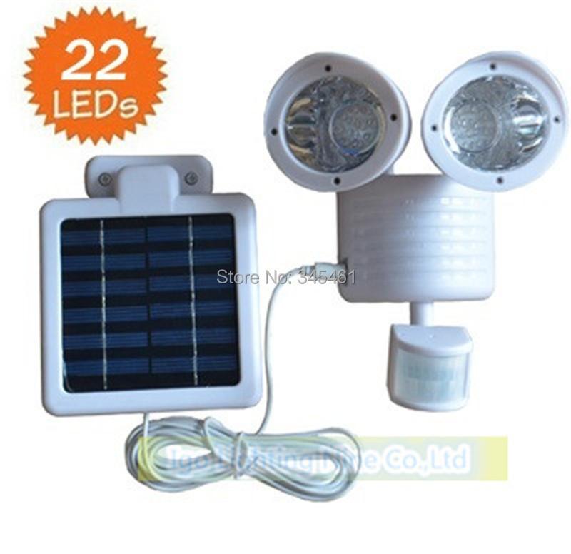 2pcs Sensor Solar Light 22 Set Wall Lights