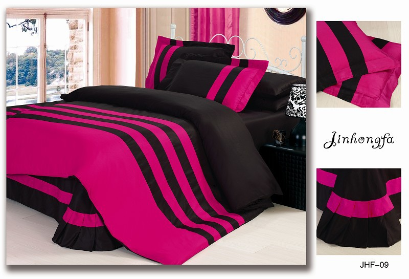 All Black Bedding Sets Queen ~ Tokida for .