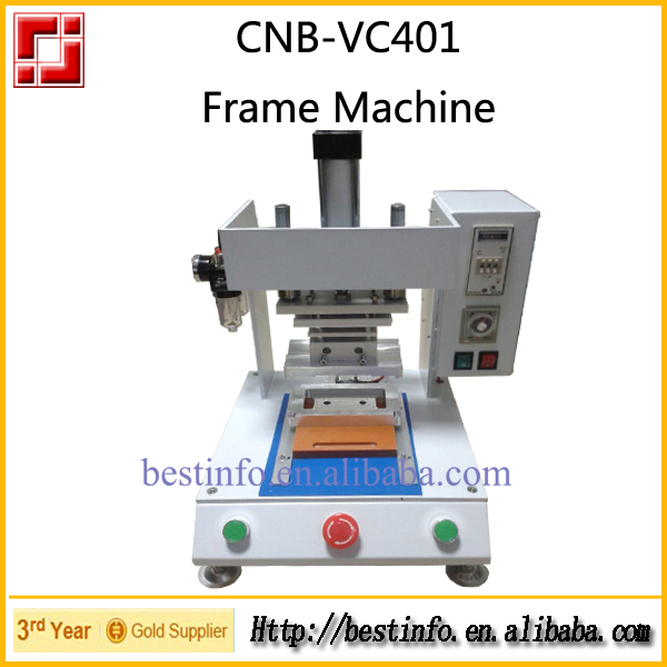 frame fixer machine for fixing frame on front glass for iphone 4 4s 5