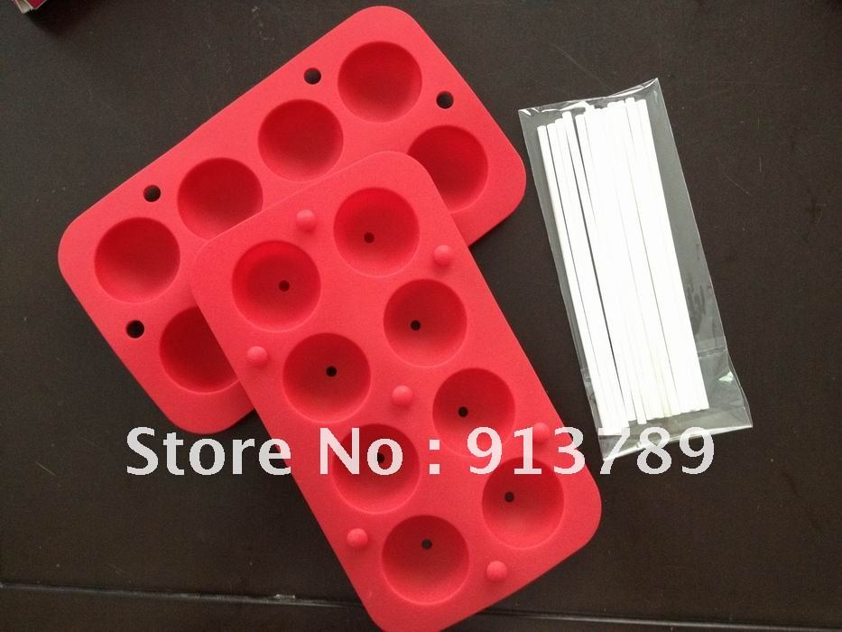 8 Type Hole Silicone Cake Mould Rectangle DIY Chocolate Jelly molds Tray 1Stick - Tony Mo's store