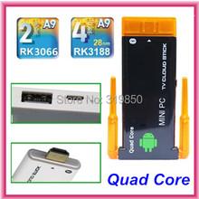 CX-919II CX-919 II uad Core RK3188 Dual Wifi Antenna Bluetooth Android 4.4.2 RAM 2GB ROM 8GB Dongle Mini PC Stick TV Box(China (Mainland))