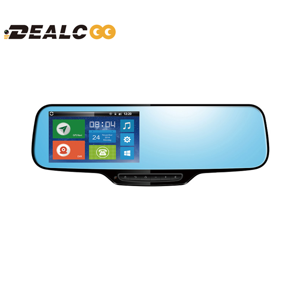 5' IPS FHD 1080P Android 4.4 Rearview Mirror Car DVR Recorder camera GPS Navigation online Tracker 3G Bluetooth Dash cam DVRs(China (Mainland))