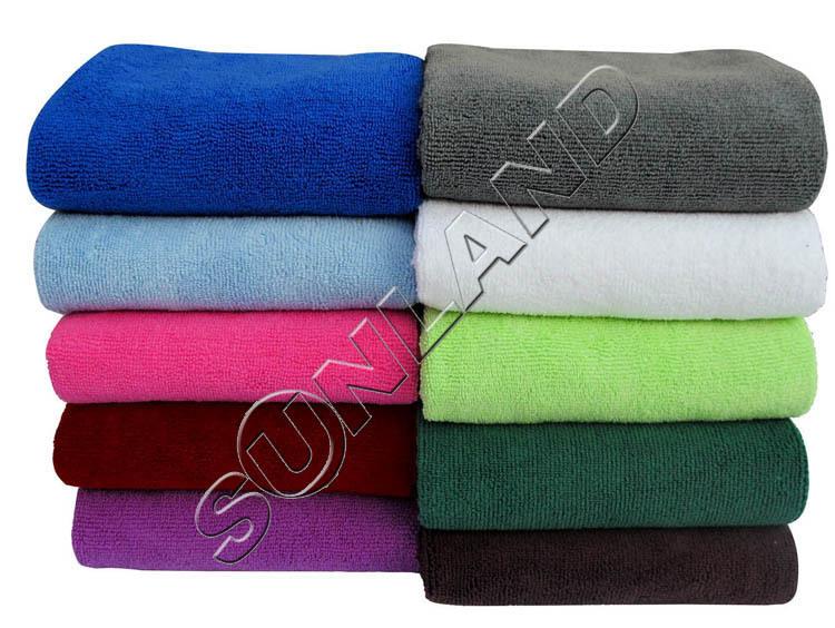 Sunland 102x183cm Microfiber Bath Sheet Ultra Absorbent Beach Towel Spa Wrap Towel Quick-dry Microfibre Products(China (Mainland))