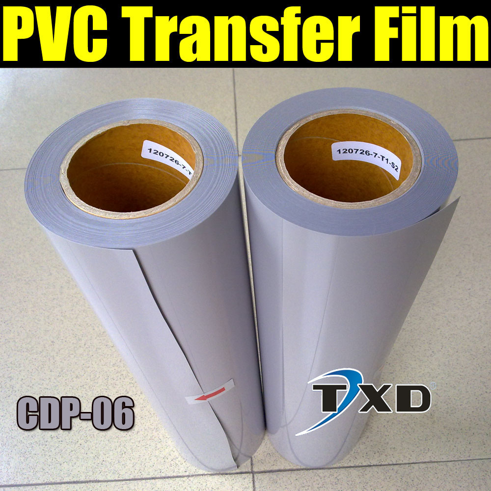 High quality PVC transfer vinyl for shirts, PVC transfer film for heat transfer with size 50CMX25M/Roll CDP-06 GREY COLOR(China (Mainland))