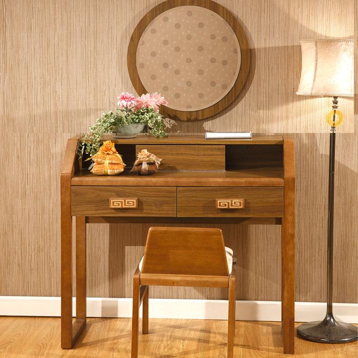 Makeup Vanity Stool Combination Of Solid Wood Furniture Simple