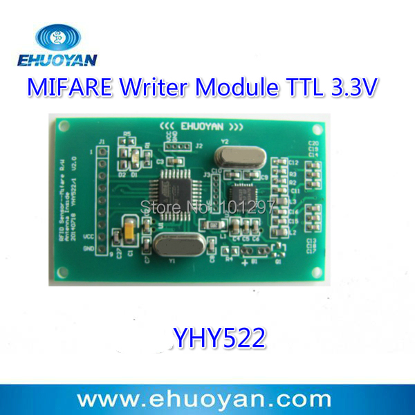 13.56MHz  14443 A Rfid Reader/Writer Module 2.7-3.6V UART  YHY522  +SDK<br><br>Aliexpress