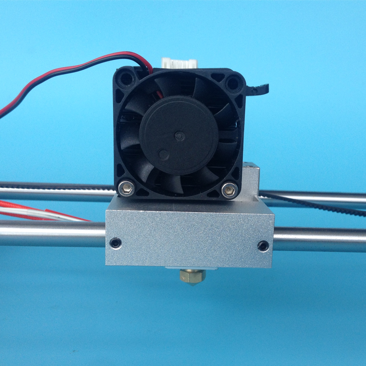3D printer MK10 single nozzle extruder kit Makerbot 2 metal extruder Aluminum alloy X axis sliding