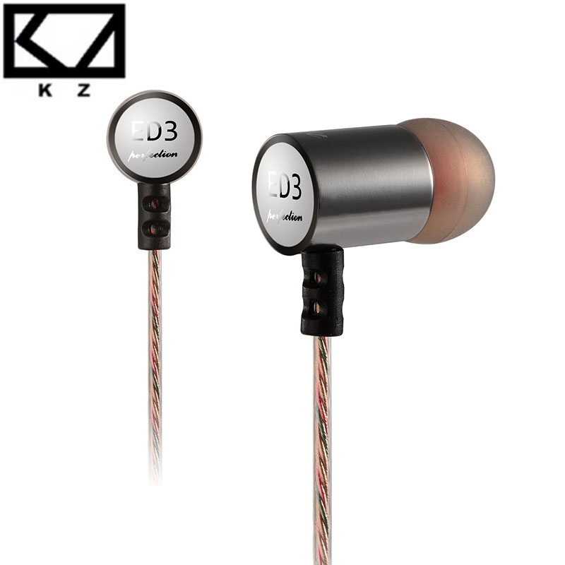 Original KZ-ED3 HIFI 3.5mm Good Bass Stereo earphone headphone headset For your Mobile phone iphone Samsung iPod(China (Mainland))