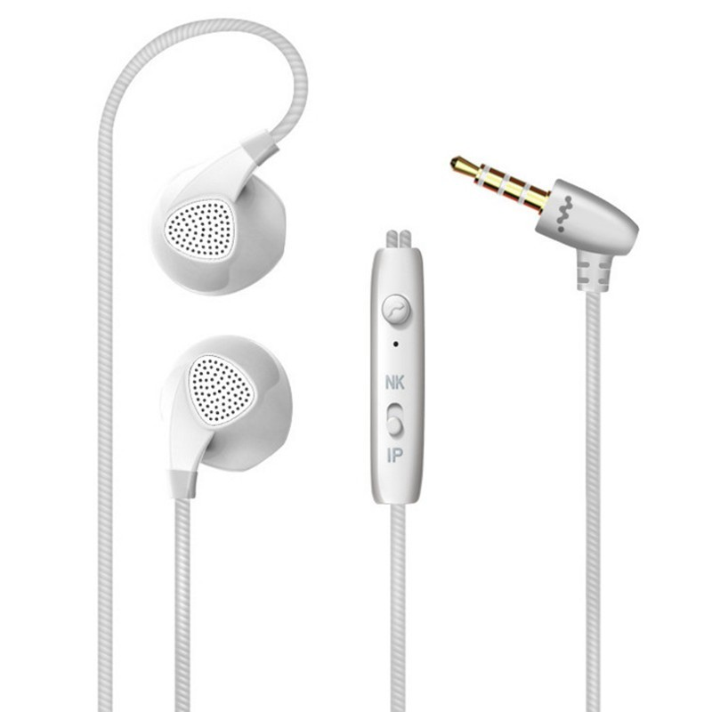 Top Quality Earphone For iPhone 6 6S 5 5S Headphones With Microphone 3.5mm Jack Bass auricuares Headset For apple Xiaomi sony