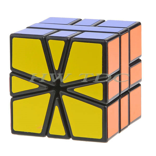 New 2014 items Speed Puzzle Cube Twist Square-1 Magic special toys black white - HW Co.,Ltd online store