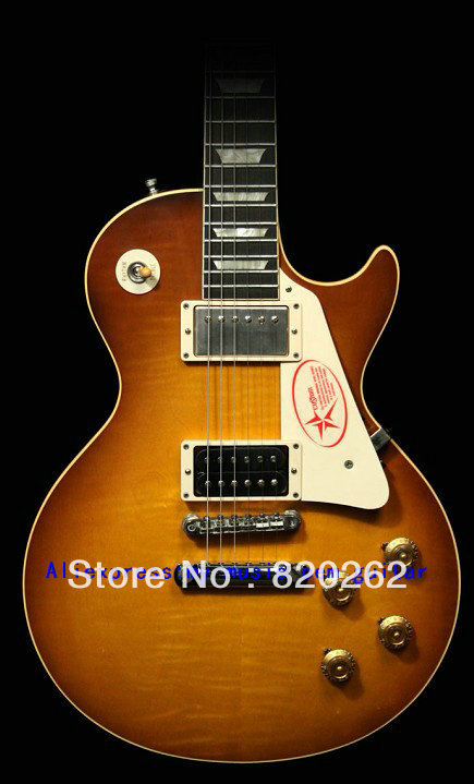 Free Shipping IN Stock Jimmy Page Two lp Electric Guitar New Arrival Wholesale(China (Mainland))