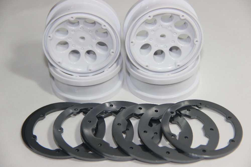 "KK-010 1.9 ""Crawler Bead lock Rim (4pcs) axial scx10 D90/ rc4wd black chrome(China (Mainland))"