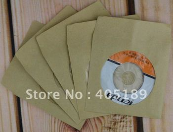 Free shipping PP Paper sleeve and envelop for 8cm diameter disc