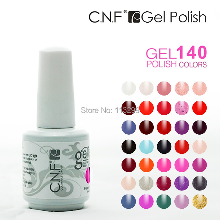 ,Free SGP Shipping + CNF Soak UV & LED 15ml nail gel polish - NAIL GEL SPACE store