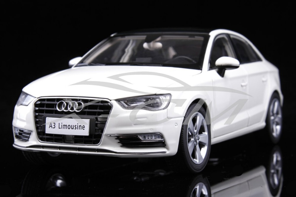 Diecast Car Model Audi A3 Limousine 1:18 (White) + SMALL GIFT!!!!!!!!!!!(China (Mainland))