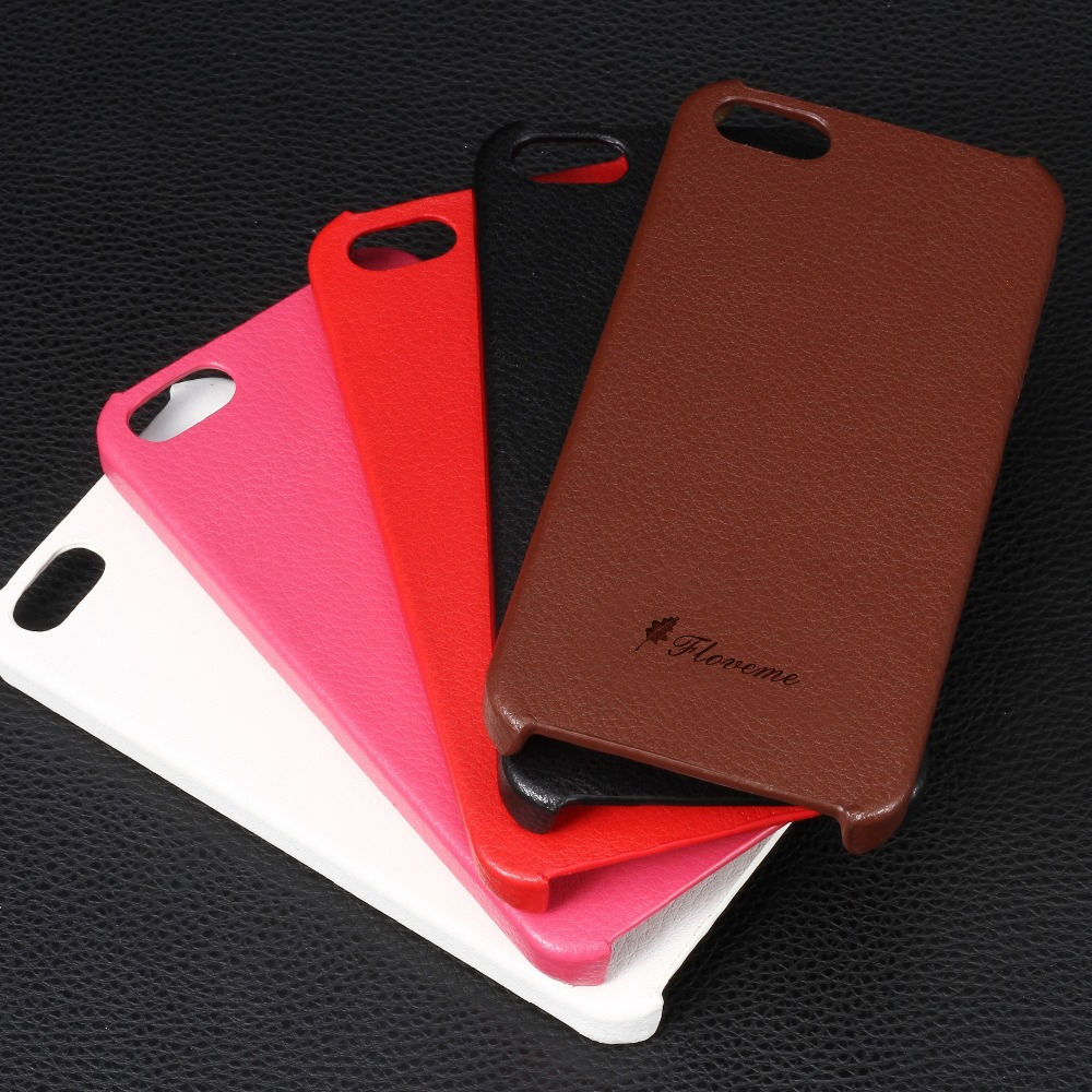 For iPhone 4S Cell Phone Cases Fashion Ultra Thin Genuine Leather Case For iPhone 4 4S 4G Back Protective Cover For iPhone 4(China (Mainland))