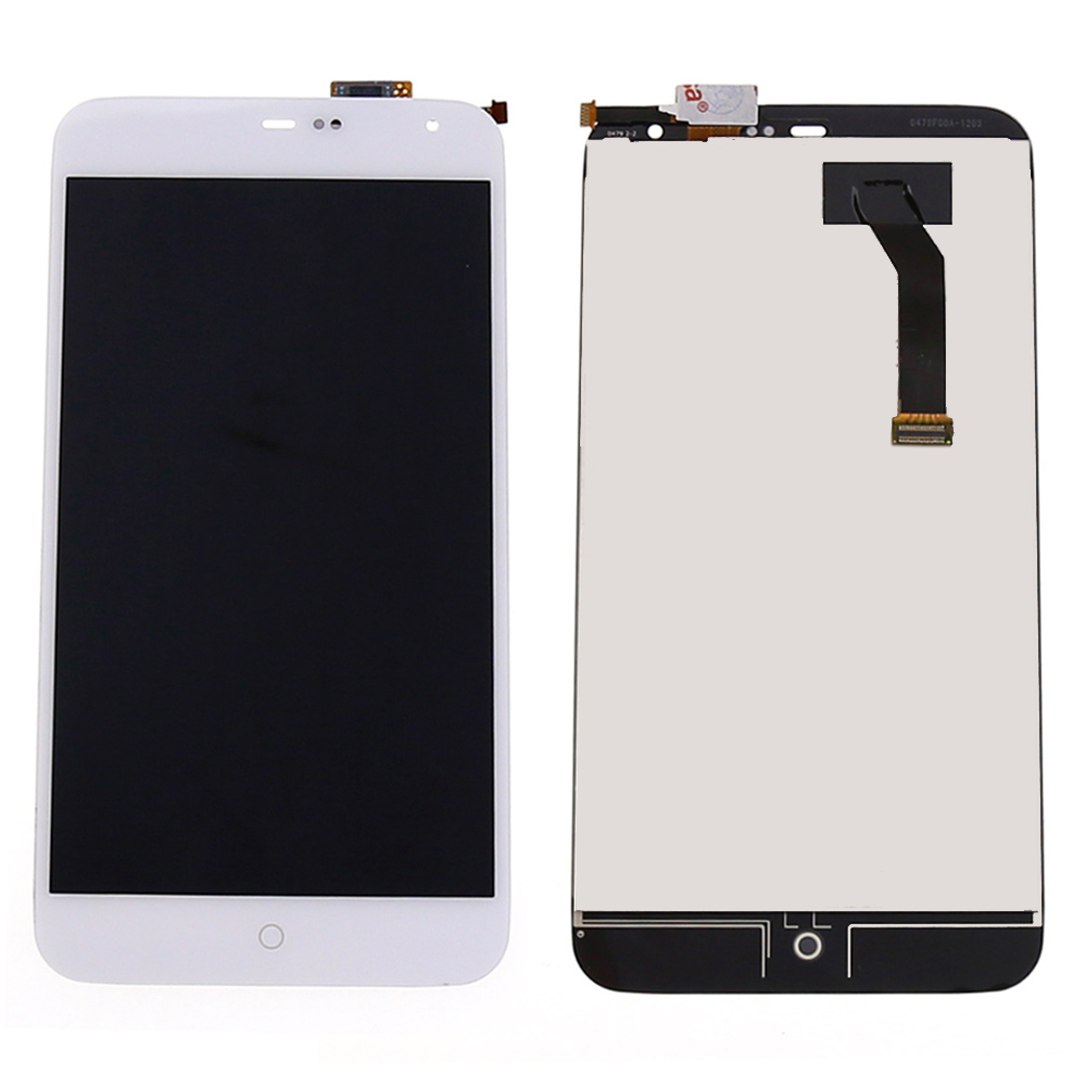 For MEIZU MX3 LCD Display Touch Screen Digitizer Full Assembly white