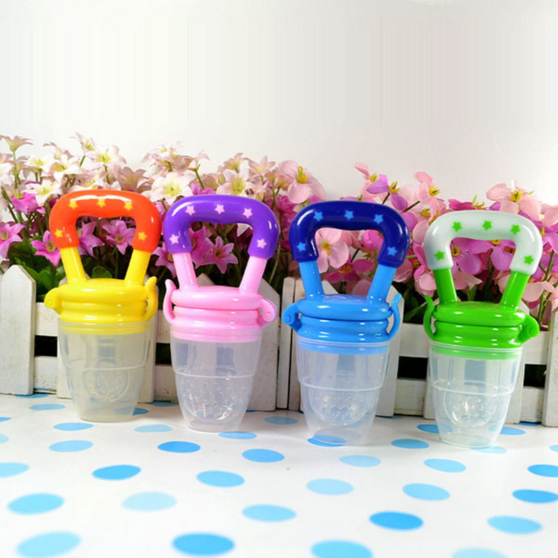 Kids Nipple Fresh Food Milk Nibbler Feeder Feeding Safe Baby Supplies Nipple Teat Pacifier Bottles Children Gifts VCH19 P0.3