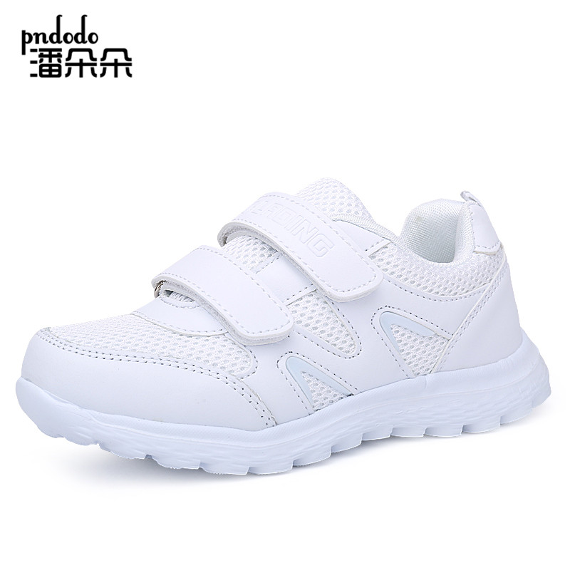 Pndodo Children white Sports Shoes Boys Summer Breathable Mesh Running Shoes Kids Sneakers Girls Lightweight Athletic Shoes(China (Mainland))