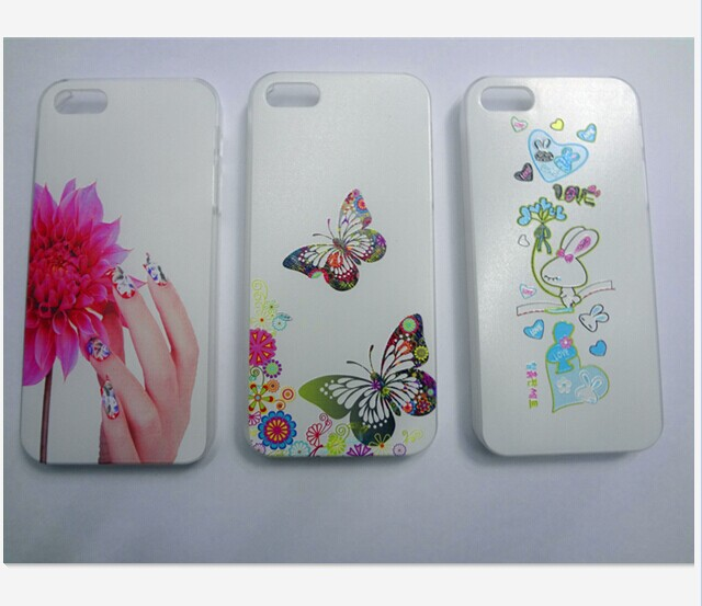 2014 China Factory price!4.0 inch Fashion Painted Design Luxury Hard Case Cover Apple iphone 5&5s - phone parts and accessories store