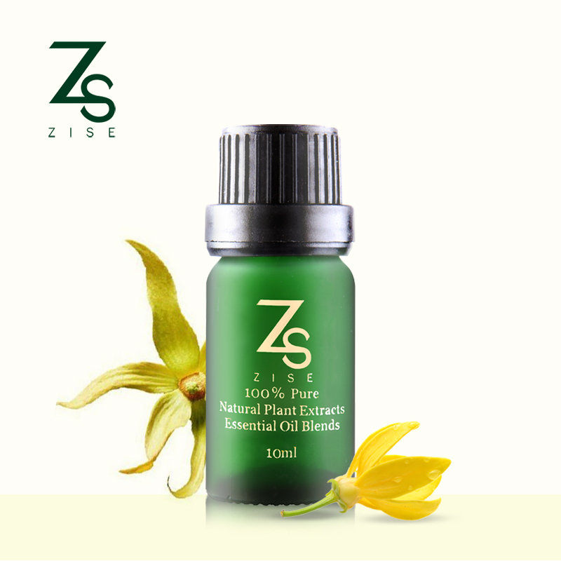 ZS brand ylang essential oils Indian maintain breast stress perfume oil body care aromatherapy spa pure 10ml ylang oil ZS-504(China (Mainland))
