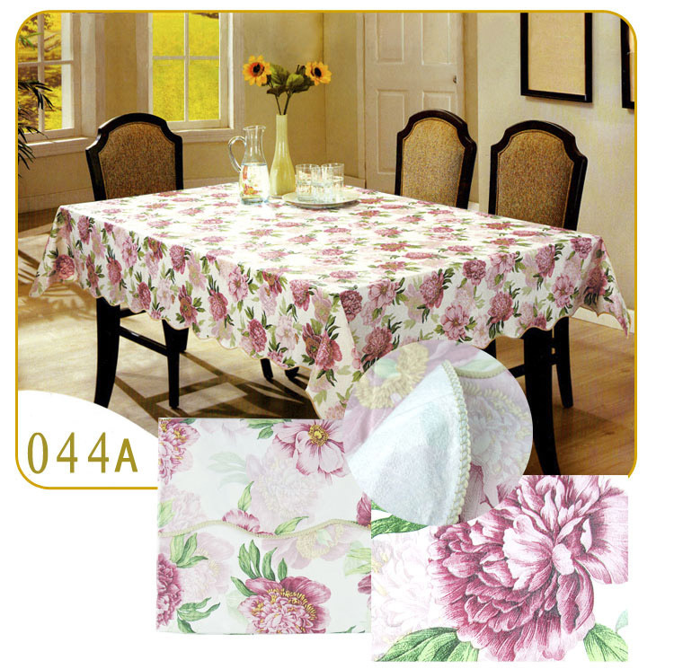 (106x152cm)Hot PVC Table Cloth Disposable Waterproof Dining Tablecloth Coffee Oilproof Printed Tea Table cloth(China (Mainland))