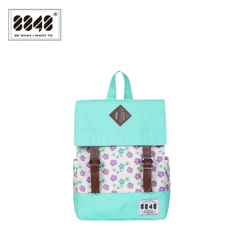 2016 500D Waterproof Fresh Floral Backpacks for Teenage Girls Green/Red Bagpack School Bag Camping Hiking Backpack For Girls <br><br>Aliexpress
