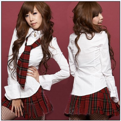 Гаджет  Noble school style sub students in Taiwan set uniform game clothing export clothing photo shoot uniform temptation None Изготовление под заказ