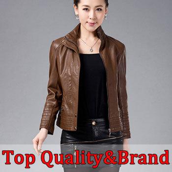 Здесь можно купить  2015 New fashion Ladies leather coat women leather clothing motorcycle leather jacket women  Одежда и аксессуары
