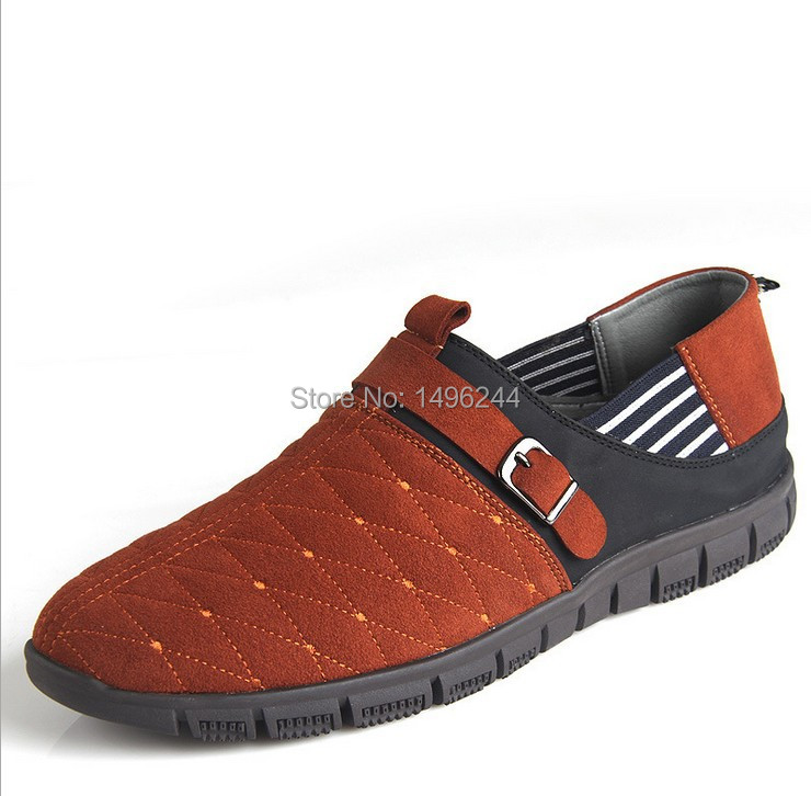 NEW british style genuine leather shoes men's fashion brand design business casual lace-up a life breathable big shoe size us 14(China (Mainland))