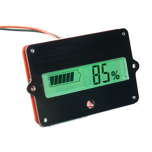 LCD Indicator Battery capacity Tester for 12V 24V 36V 48V Lead-acid Lithium Cell(China (Mainland))