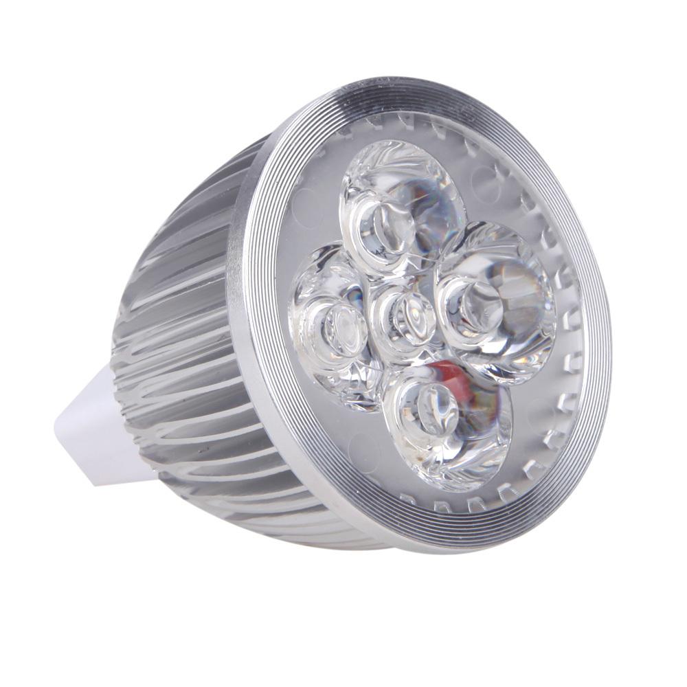 4 Red 1 Blue LED planta luz MR16 5 W Bulb Lamp hidropônico para plantas de flores de interior DC 12 - 24 V cresce luzes(China (Mainland))