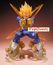 High Quality Boxed Japanese Anime Cartoon Dragon Ball Z Super Saiyan Fighting Vegeta Action figure